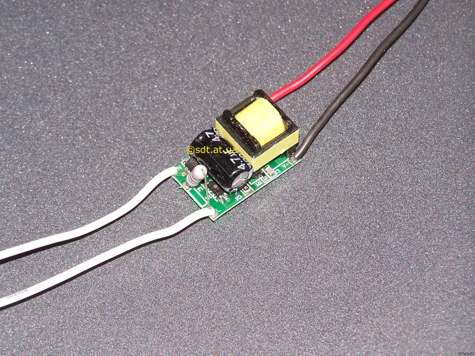 Драйверы для светодиодов 220в своими руками